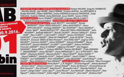 Biennale de Croatie – 02.03 / 30.09.2016
